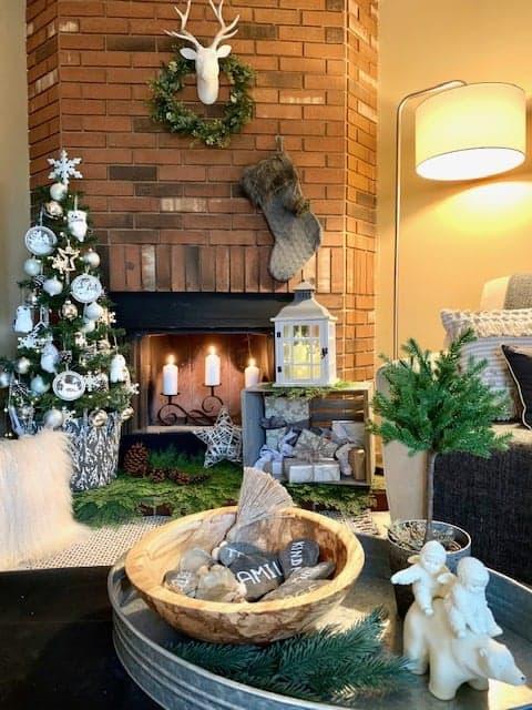Christmas Fireplace Tips