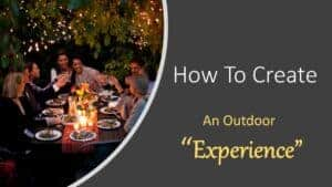 Outdoor Place Setting Course Videos