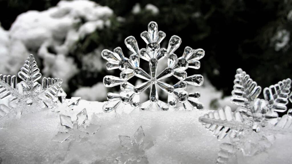 Canva Christmas Decorative Snowflakes