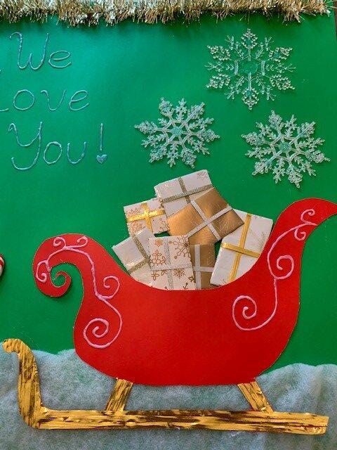 sleigh rotated